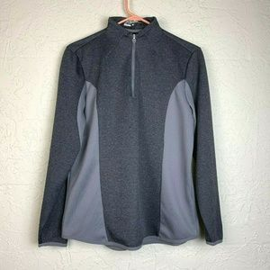Nike Golf Performance Tour L Gray Athletic Jacket